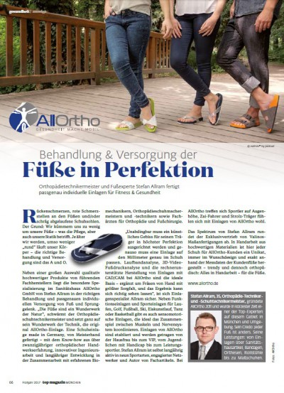 TOP Magazin 02-2017 Imageanzeige AllOrtho