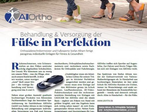 Einlagen – Behandlung & Versorgung der Füße in Perfektion