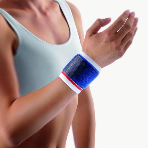 BORT Stabilo® Handgelenkbandage 112010 weiss blau