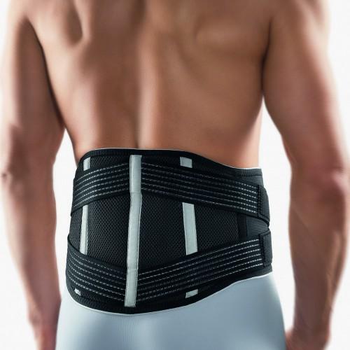 BORT Vario Rückenbandage mit Pelotte 112610 schwarz hinten