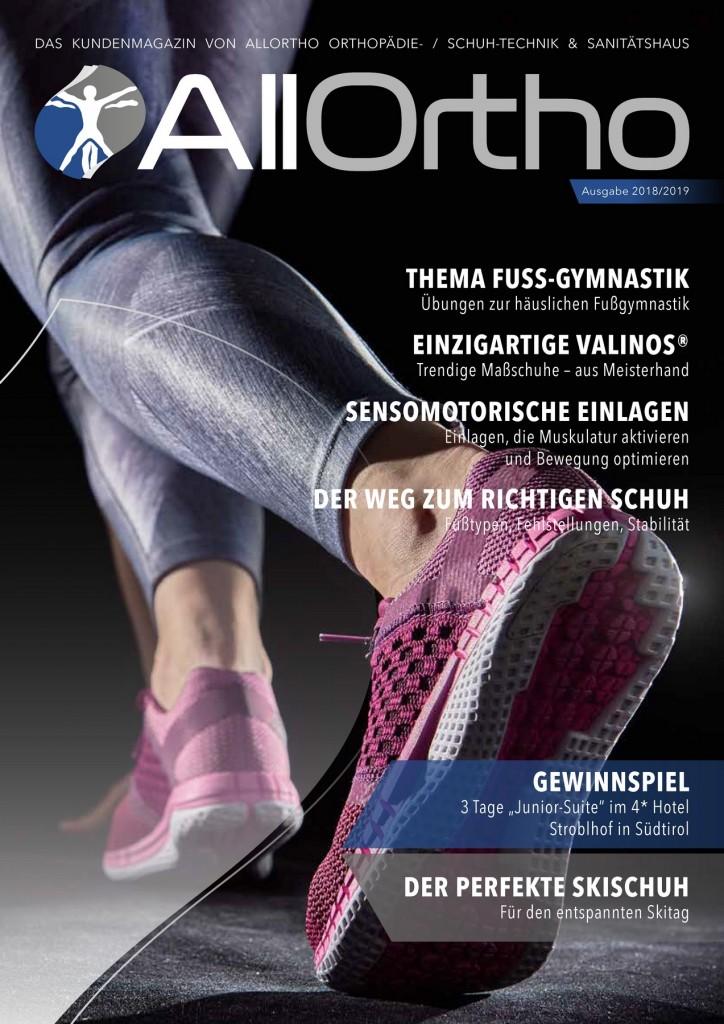 AllOrtho Kundenmagazin 2018-2019
