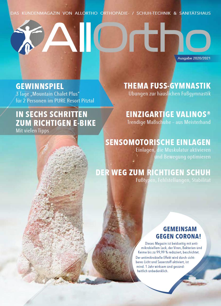 AllOrtho Kundenmagazin 2020-2021